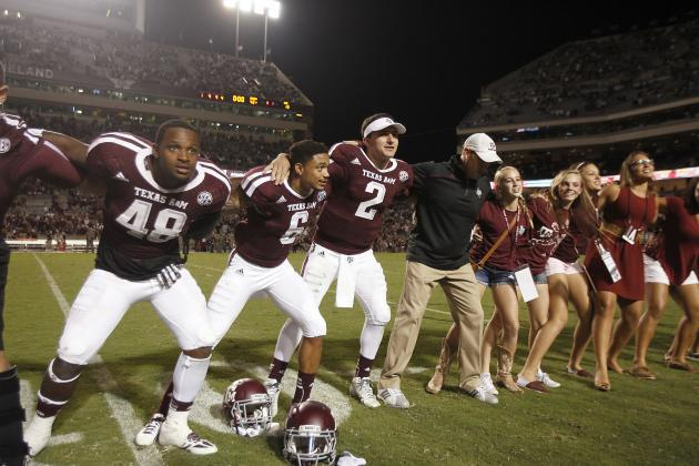 Texas A&M Football: Midseason Grades for Players and Coaches