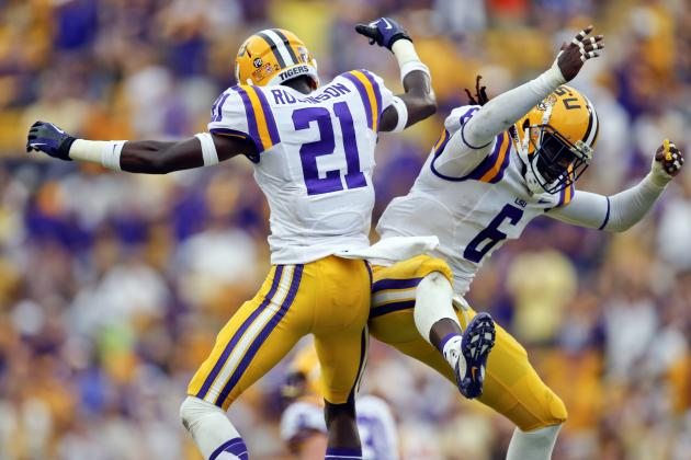 LSU Football: Midseason Grades for Players and Coaches