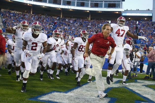 Alabama Football: Midseason Grades for Players and Coaches