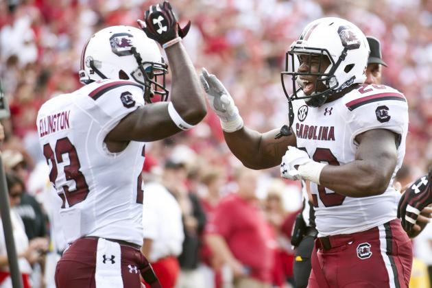 South Carolina Football: Midseason Grades for Players and Coaches