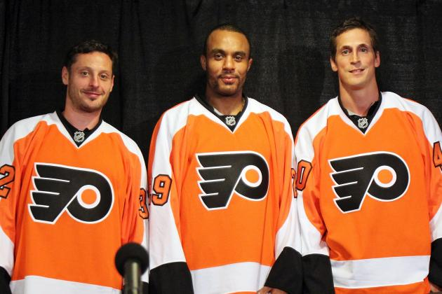 Way-Too-Early Grades for New Philadelphia Flyers