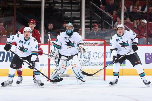 San Jose Sharks' 5 Most Underrated Players for 2013-14 NHL Season