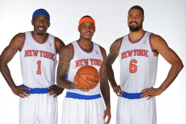 2013-14 NBA Season Preview Player Power Rankings for NY Knicks