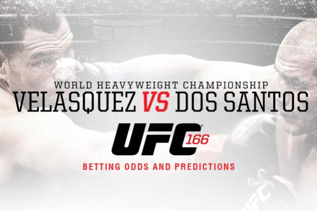 UFC 166: Cain Velasquez vs. Junior Dos Santos 3 Betting Odds and Predictions