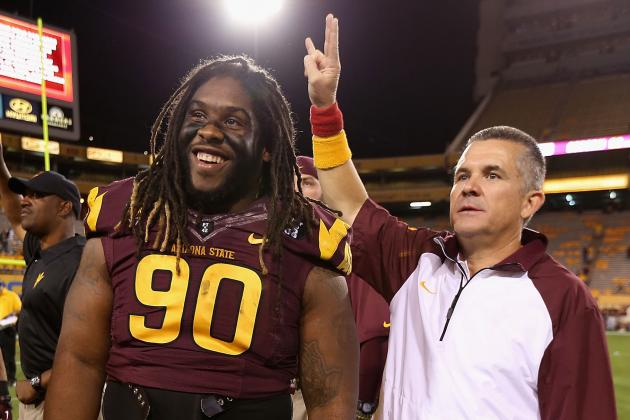 Arizona State Football: Midseason Grades for Players and Coaches