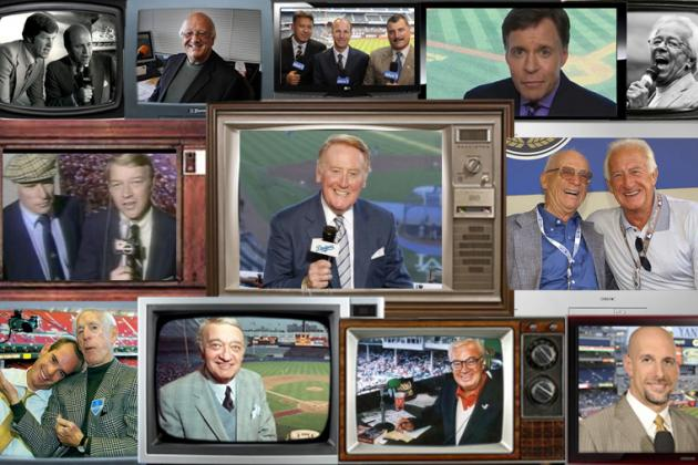 The Best Major League Baseball Announcers of All Time