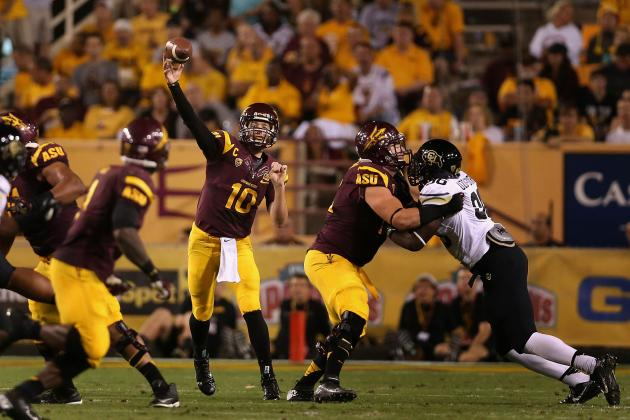 Arizona State Football: Comparing Quarterbacks Keith Price and Taylor Kelly
