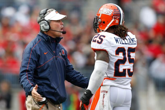 Fighting Illini Football: Midseason Grades for Players and Coaches