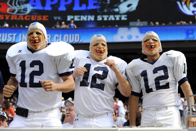 Penn State Football: Midseason Grades for Players and Coaches