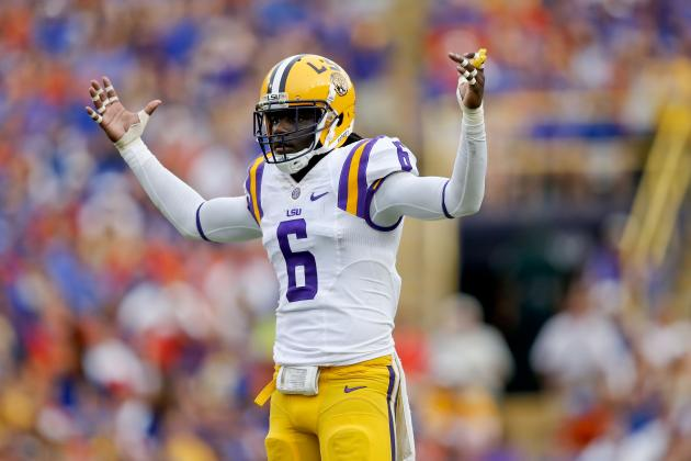 LSU vs. Ole Miss: 5 Tigers Most Responsible for Stopping Spread Offense