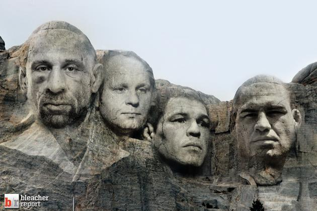 UFC 166: Cain Velasquez vs. JDS and the Mt. Rushmore of the Heavyweight Division