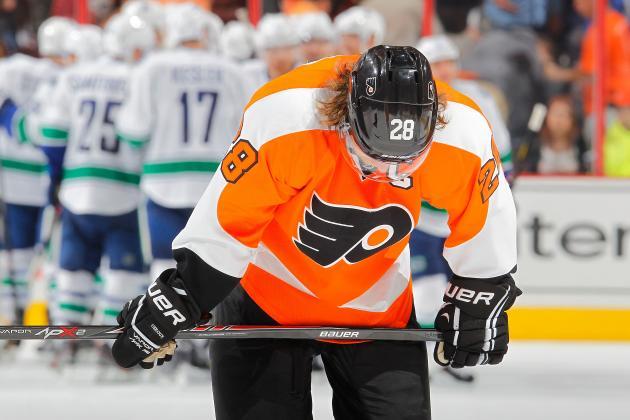 5 Stats That Explain Philadelphia Flyers' Slow Start in 2013-14