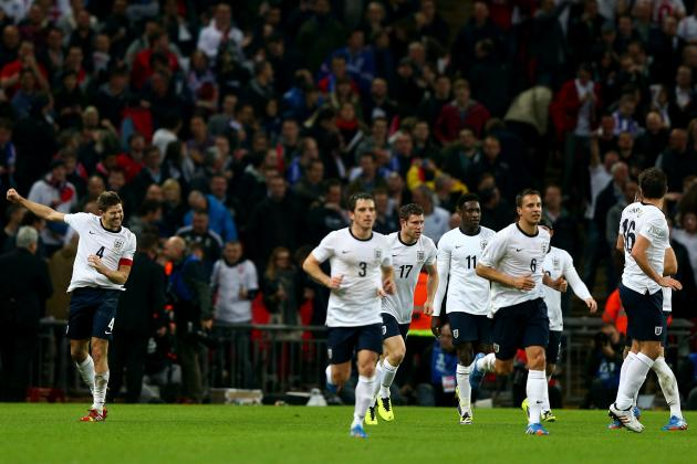 England World Cup Roster 2014: Updates on 23-Man Squad, Starting 11 Projections