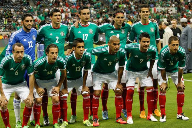Mexico World Cup Roster 2014: Updates on 23-Man Squad, Starting 11 Projections