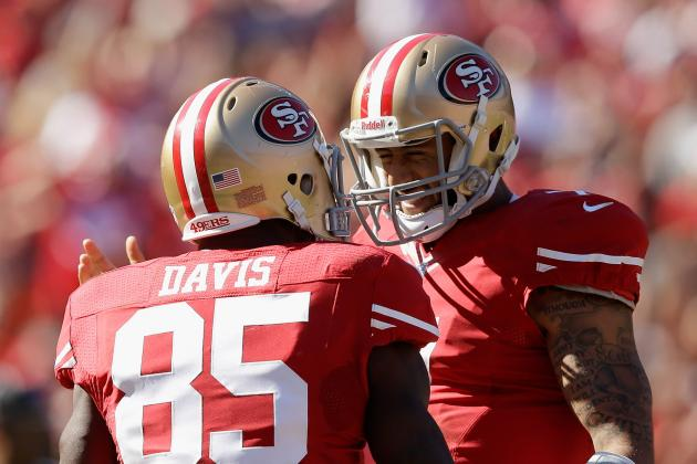 Over/Under Stat Predictions for San Francisco 49ers vs. Tennessee Titans