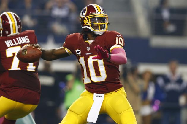 5 Bold Predictions for Washington Redskins' Week 7 Matchup
