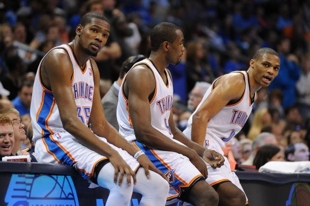 2013-14 NBA Season Preview Player Power Rankings for OKC Thunder