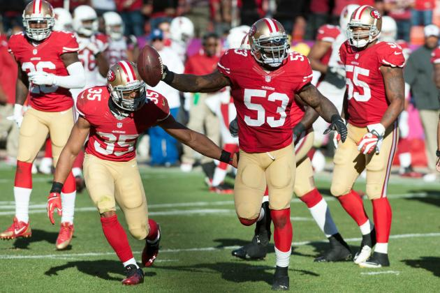 Ranking the Top 5 MVPs for the San Francisco 49ers so Far in 2013