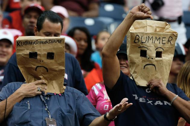 Houston Texans: Blueprint for a Lost Season