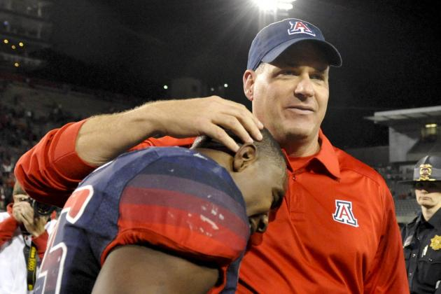 Arizona Wildcats Football: Midseason Awards for Players and Coaches