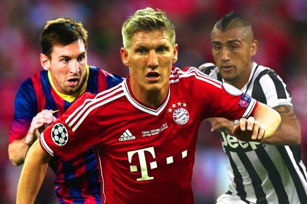 B/R Champions League 50: Ranking the Best Players in the 2013/14 UCL Group Stage