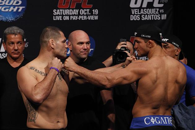 Velasquez vs. Dos Santos Fight Card: Power Ranking the 7 Most Compelling Fights