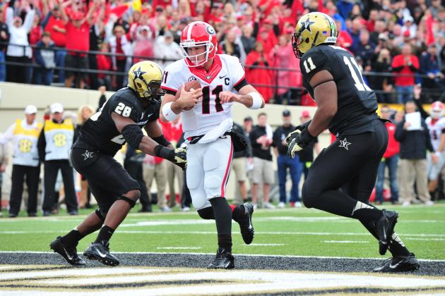 Georgia vs. Vanderbilt: 10 Things We Learned from the Bulldogs' Loss