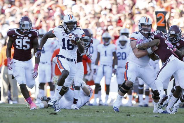Auburn vs. Texas A&M: 10 Things We Learned in Tigers' Win