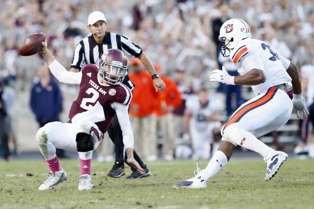 Auburn vs. Texas A&M: 10 Things We Learned in the Aggies Loss