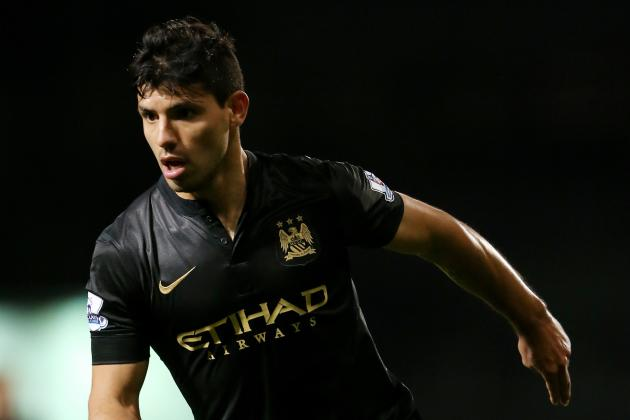 Premier League Team of the Week: Sergio Aguero and Andros Townsend Star