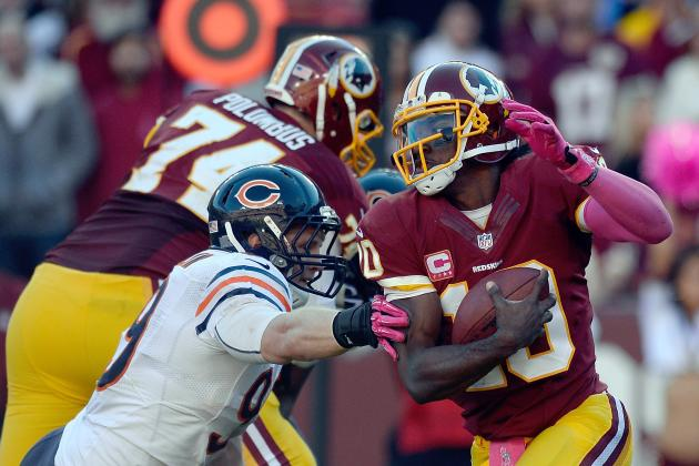 Chicago Bears vs. Washington Redskins: Takeaways from Washington's 45-41 Win