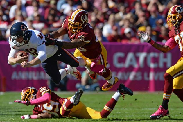 Bears vs. Redskins: Takeaways from Chicago's 45-41 Loss to Washington