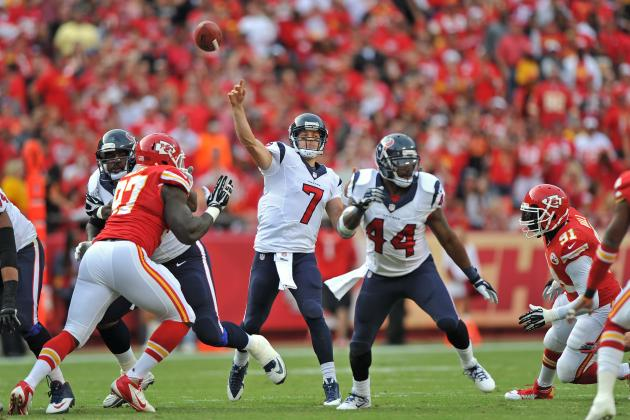 Houston Texans at Kansas City Chiefs: Full Roster Report Card Grades for Houston