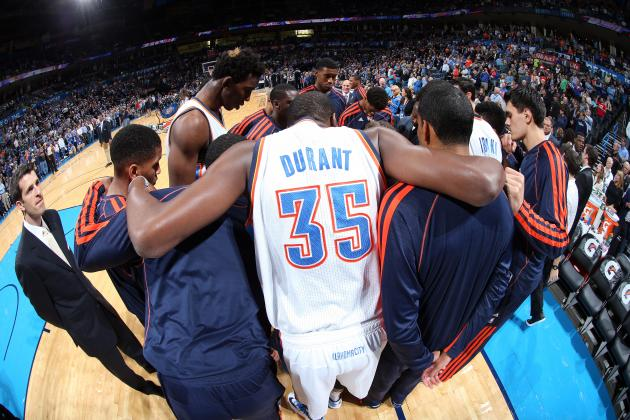 OKC Thunder: Ranking Most Important Players Heading into 2013-14 Season