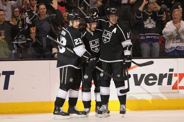 Early 2013-14 Grades for Each Los Angeles Kings Line