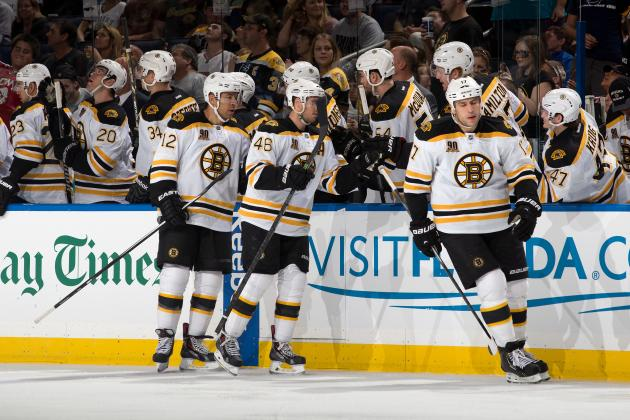 Early 2013-14 Grades for Each Boston Bruins Line