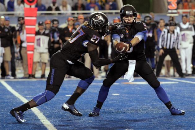 Boise State Football: Midseason Awards for Broncos' Players and Coaches
