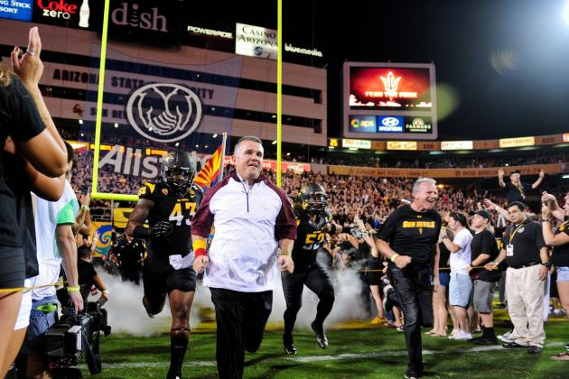 Arizona State Football: Midseason Awards for Players and Coaches