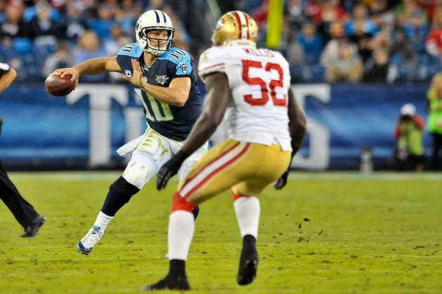 49ers vs. Titans: Full Roster Report Card Grades for Tennessee
