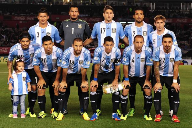Argentina World Cup Roster 2014: Updates on 23-Man Squad, Projected Starting 11