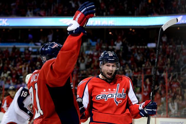 Early 2013-14 Grades for Each Washington Capitals Line