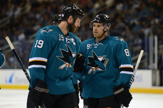 Early 2013-14 Grades for Each San Jose Sharks Line
