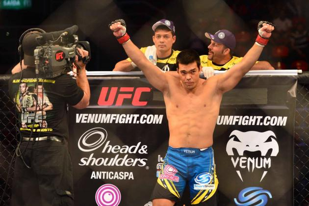 UFC Fight Night 30: Lyoto Machida vs. Mark Munoz Betting Odds & Predictions