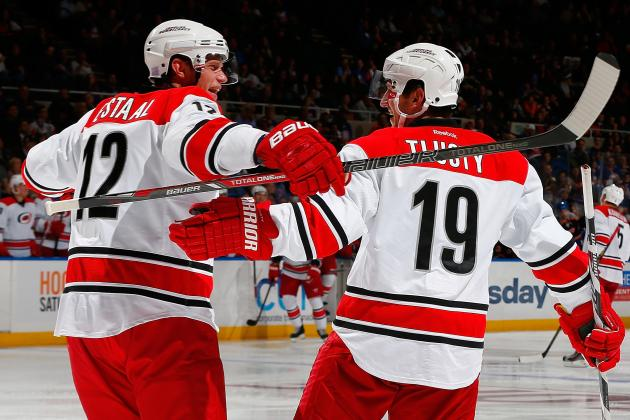 Grades for Each Carolina Hurricanes Line Early in 2013-14 NHL Season