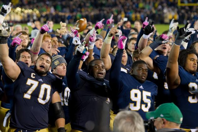 Notre Dame Football: Midseason Awards for Players and Coaches