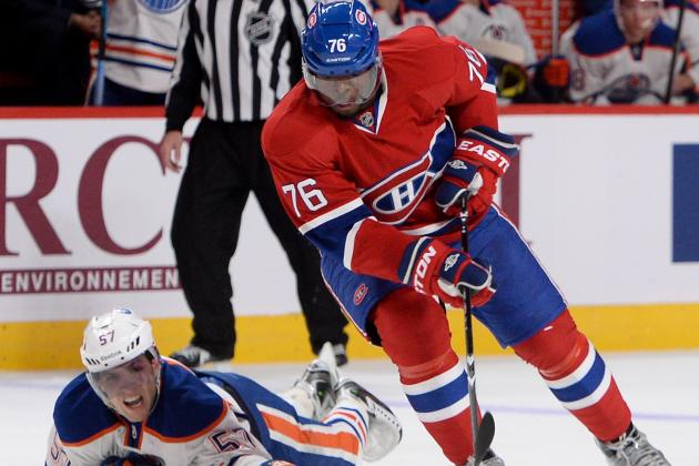 Which 5 Montreal Canadiens Will Have the Best Plus-Minus Stats in 2013-14?