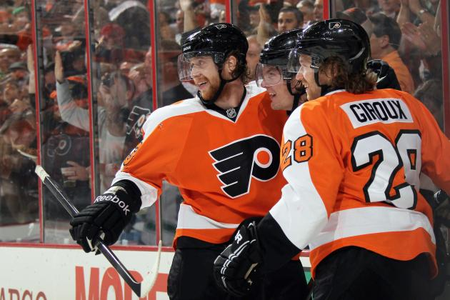 Early Stock Watch for Philadelphia Flyers' Top Stars in 2013-14