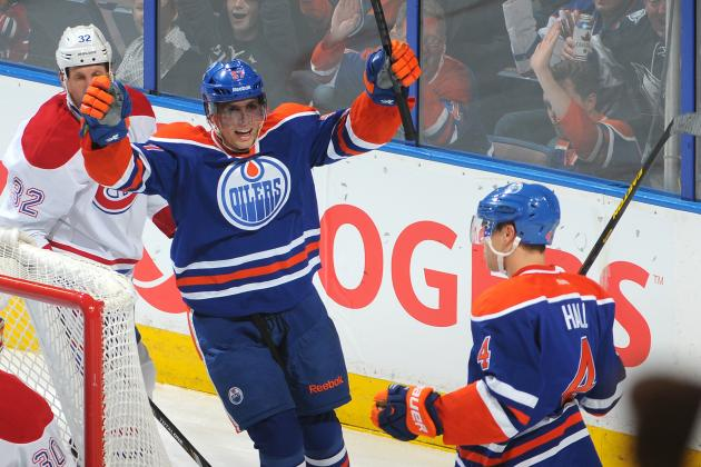 Early 2013-14 Grades for Each Edmonton Oilers Line