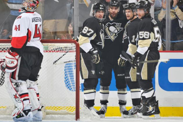 Ranking the 10 Hottest Lines Early in 2013-14 NHL Season