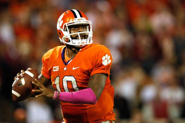 College Football Week 9 Picks: Clemson Tigers vs. Maryland Terrapins